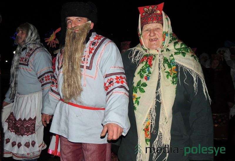 """Госці шчадроўнага свята """"Конікі"""""""