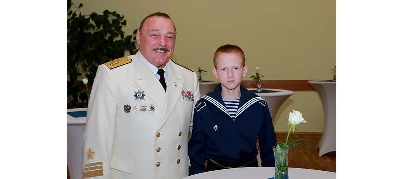 Ульян Николаевич и внук Данил