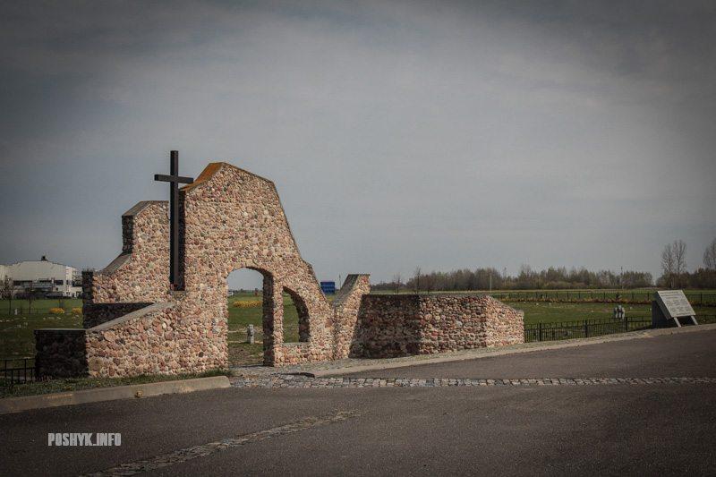 Сборное немецкое кладбище под Берёзой, фото poshuk.info