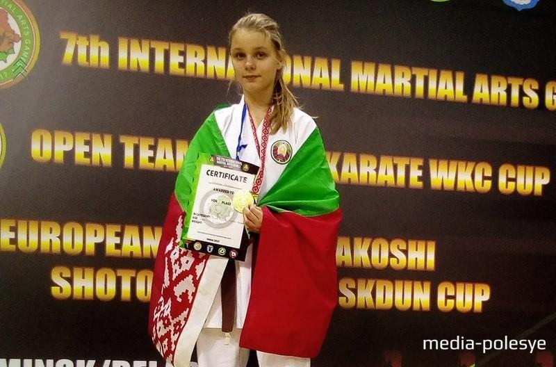 Валерия Семенчук – обладательница двух медалей этих соревнований