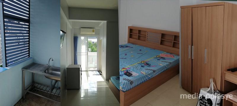 Квартира, которую снимает Анна в городе Хатъяй