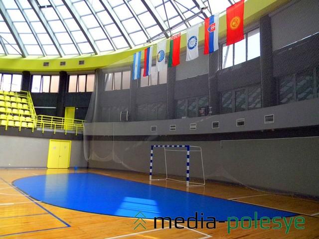 В этом зале будут проходить игры чемпионата
