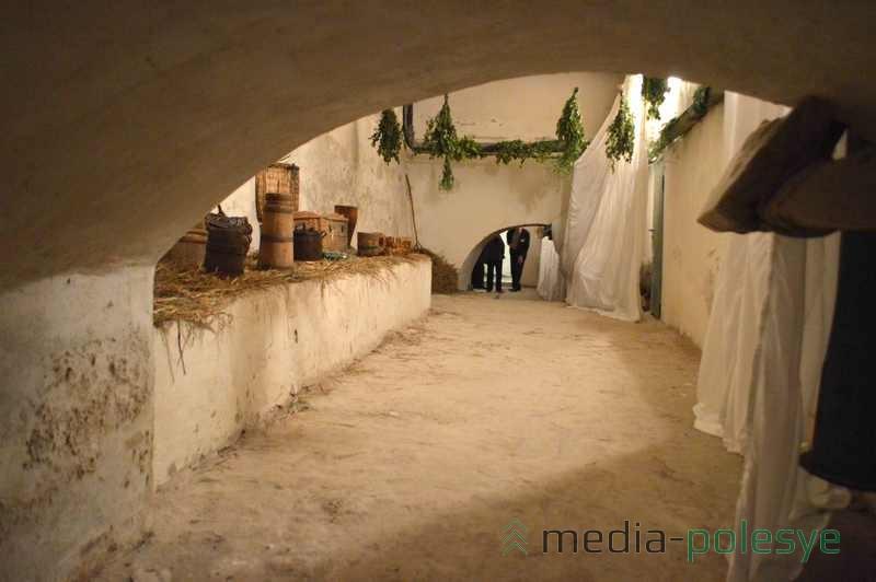 Высота потолков в подвальных помещениях достигала от 3 до 7 метров