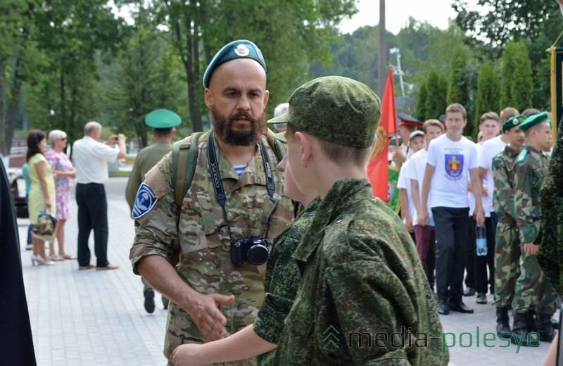 Командир отряда из Марьиной Горки