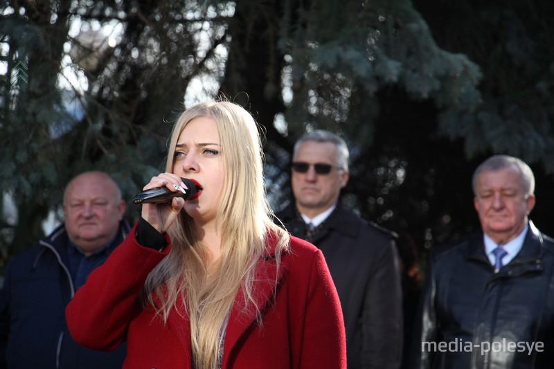 Исполняем гимн Беларуси