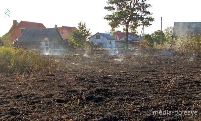 Деревня в огне
