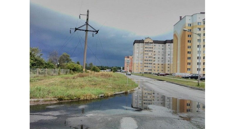 #осень #лунинец #пасмурно #luninets #belarus #mediapolesye #медиаполесье