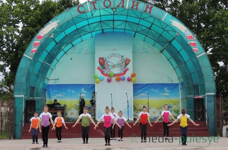 Удзельнікі студыі танца «Be FLEX»