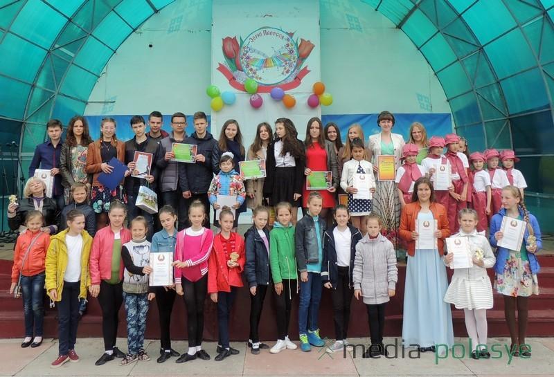 Фіналісты раённага конкурсу «Зоркі Палесся»