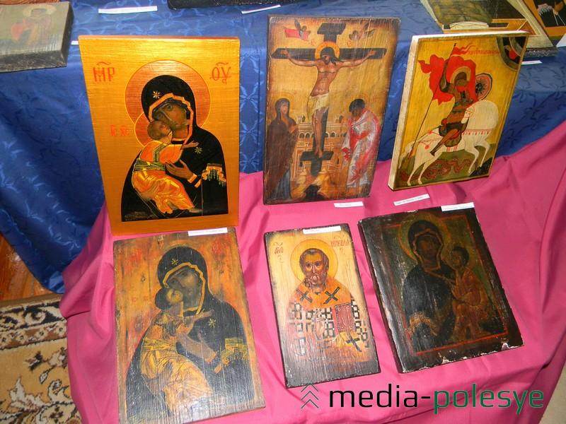 Копіі ікон Сяргея Грыдзюшкі