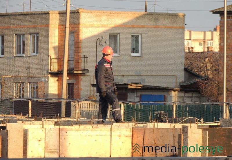 60-квартирный жило дом в Столине строят по улице Чкалова