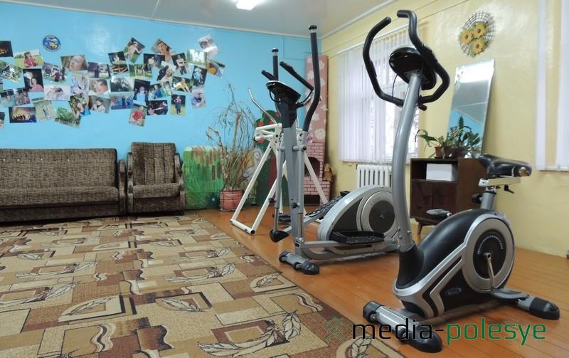 Зал для физкультурно-оздоровительных занятий, для проведения кружков и мероприятий