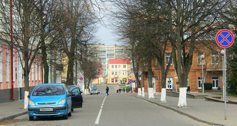 Этот участок улицы до реконструкции. Фото Юрась Шчербаков