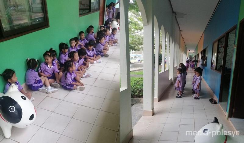 Детский сад, в котором работала Анна