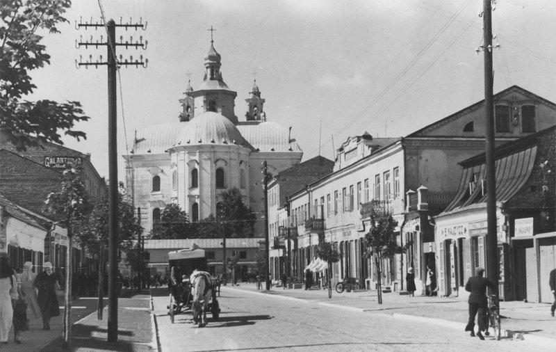 Улица в центре, 1930–1945