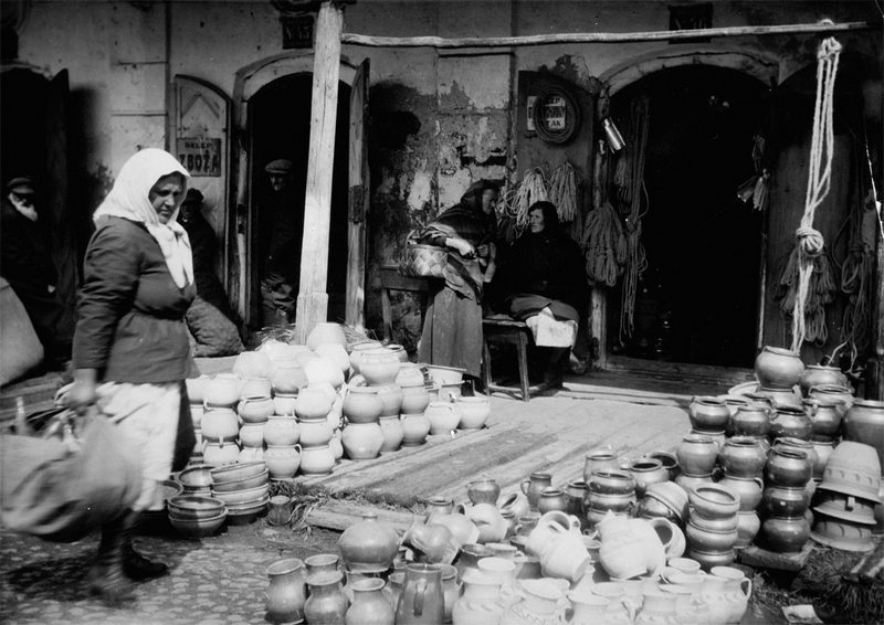 Уличная торговля, апрель 1937