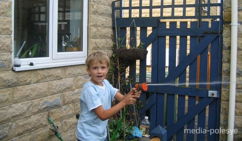 Антон в 8-летнем возрасте