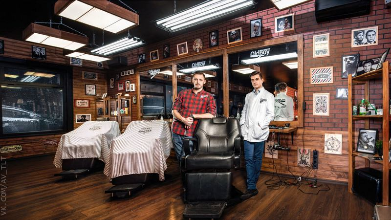 Работа в барбершоп Oldboy в Пинске. Фото с top-barbershop.com