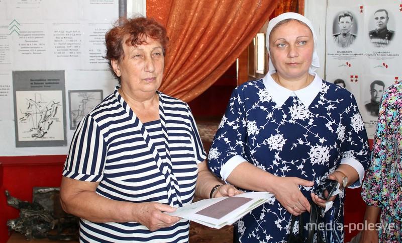 Дочь Петра Ситника Мария и внучка Ирина
