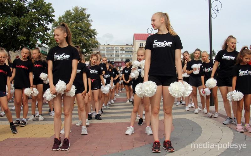 Шествие начиналось у здания гостиницы Припять