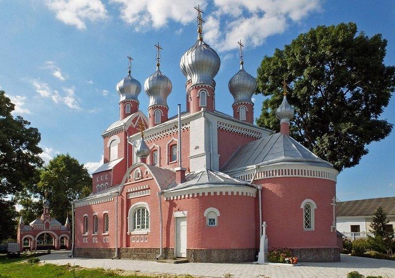 Церковь Казанской иконы Божией Матери г.Давид-Городка. Фото с сайта orda.of.by