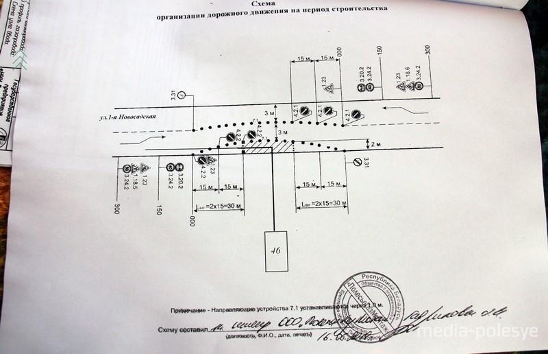 Схема от ГАИ