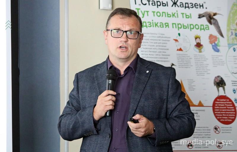 Заместитель директора по научной и инновационной работе Института экспериментальной ботаники НАН РБ Дмитрий Груммо