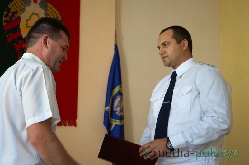 Почётную грамоту получил Анатолий Пашкевич