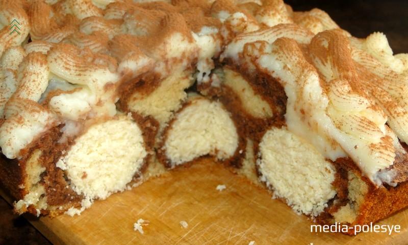 Пирог красив в разрезе…