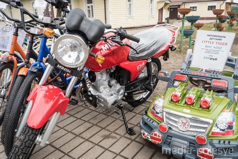Мотоциклы и электромобили
