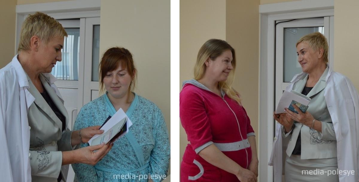 Вручение свидетельств о рождении детей