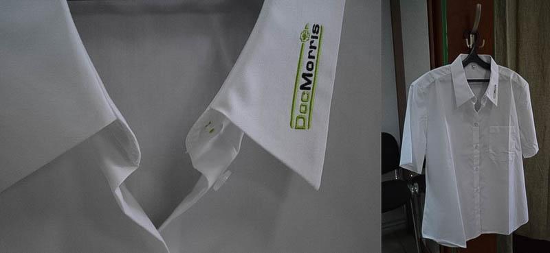 Рубашка для медиков. 39 000 руб.