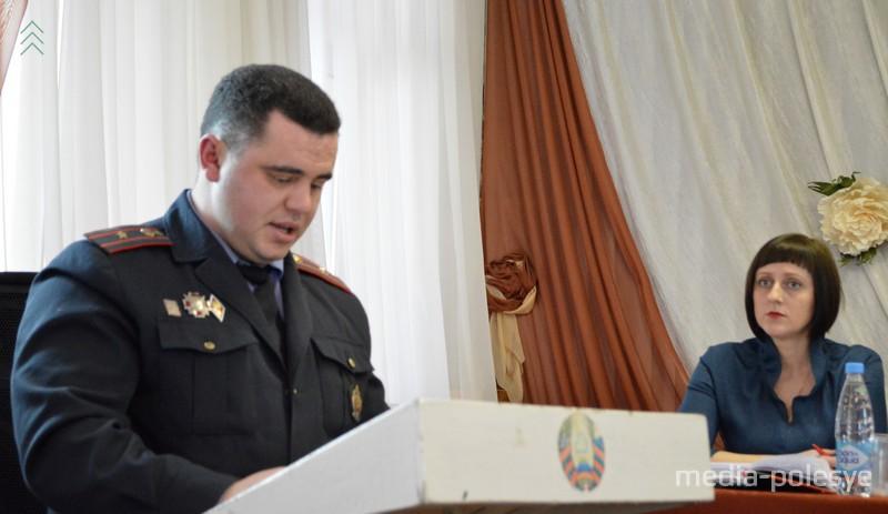 Начальник ИДН Вадим Корженевич