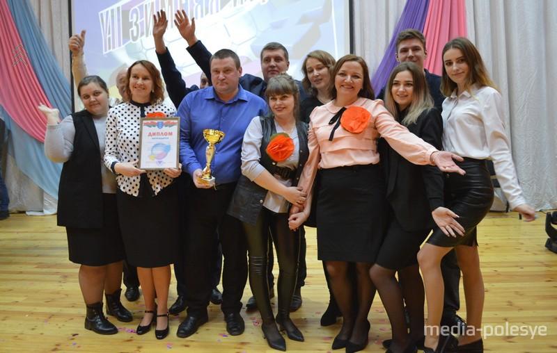 Награждается команда-победитель «сНЕЖНЫЕ люди»