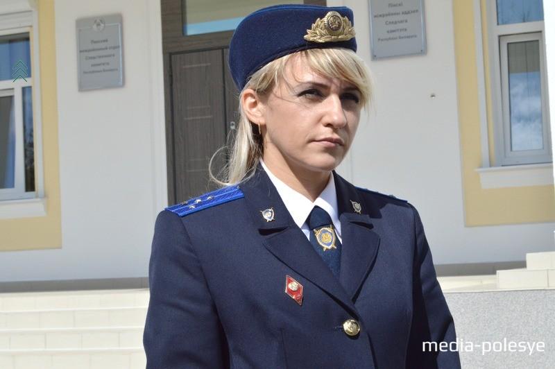 Марина Дранькова - официальный представитель УСК по Брестской области