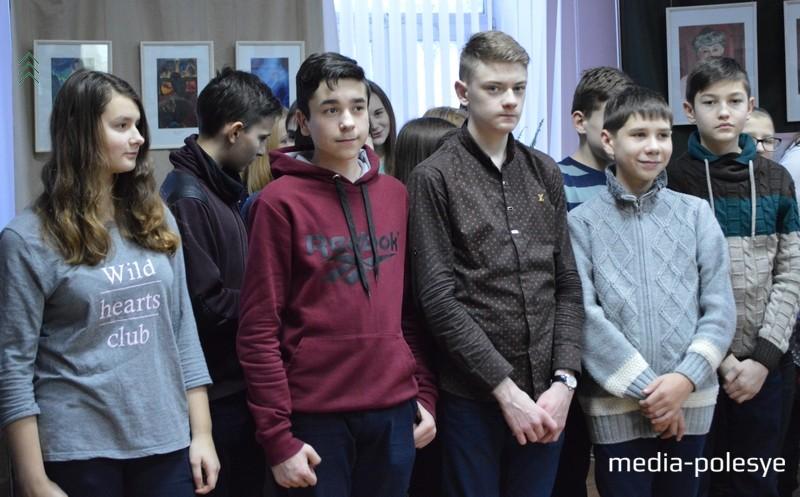В музее побывали ученики СШ №1 г.Лунинца