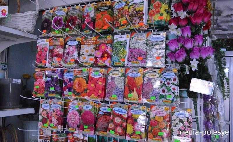 Самое время покупать семена цветов. Они в магазине – в большом ассортименте