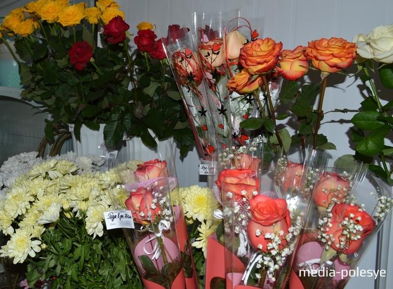 Порадуйте милых дам самыми красивыми цветами