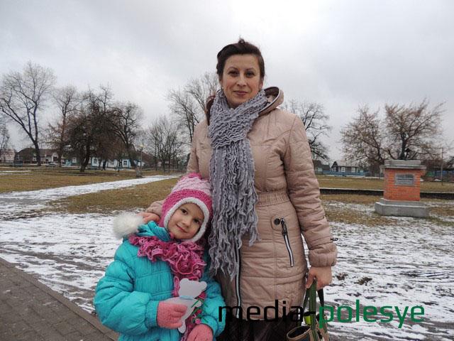 Татьяна Шпак с дочерью Марией