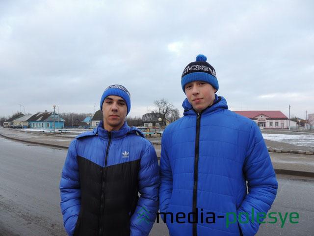 Денис Брезовский и Евгений Марчук
