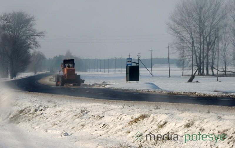 За порядком на автомобильных дорогах республиканского значения в районе  следит ДЭУ-26