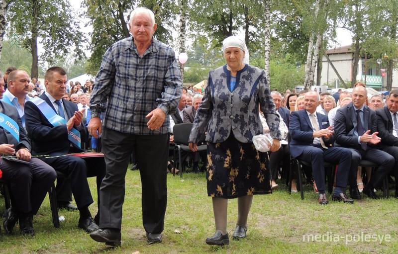 Антон Петрович и Ольга Юльяновна Карповичи