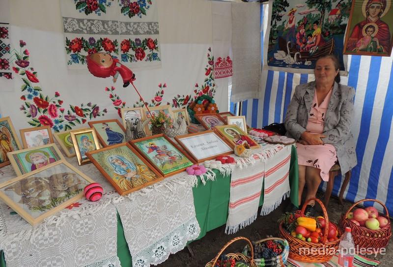 Любовь Козачек и её вышивка