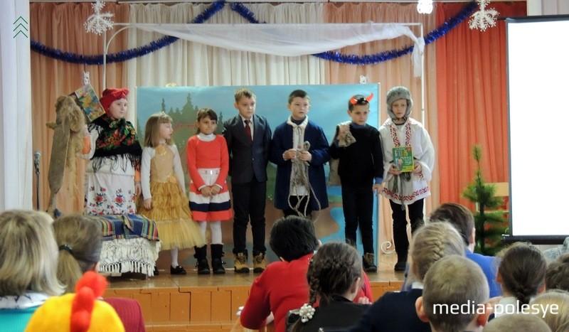 Учащиеся Федорской СШ завершают своё выступление