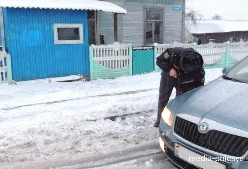 На дорогах случались мелкие ДТП