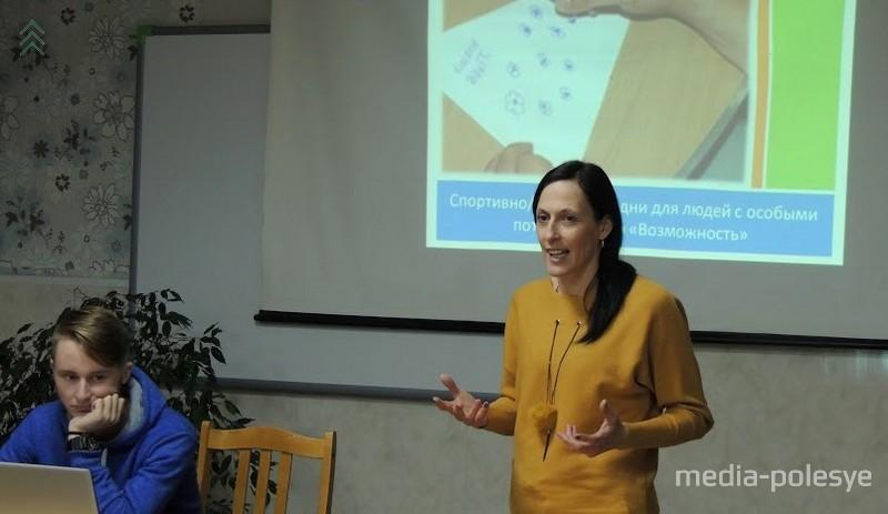 Занда Витола презентует латвийкий опыт
