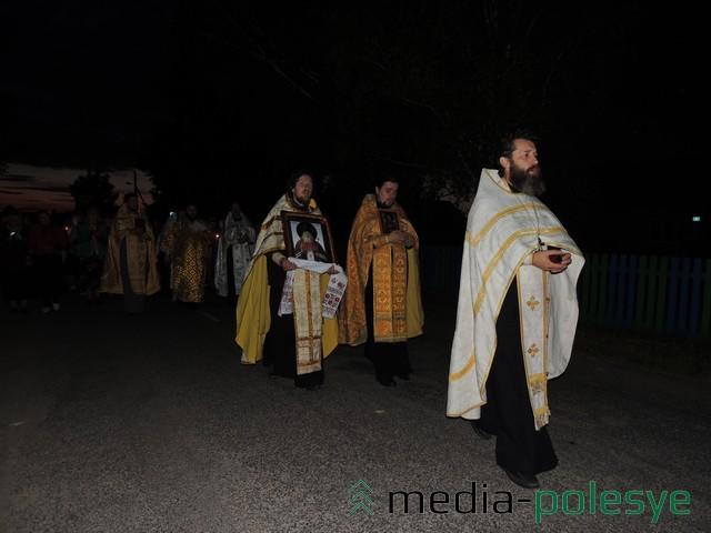Закончился крестный ход молитвой в часовне в честь святителя Луки Войно-Ясенецкого