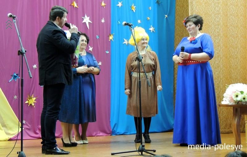 Поздравления от коллектива Речицкого ГДК, где выступала и выступает юбилярша