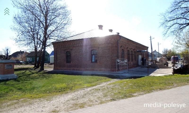 Здание музея в Давид-Городке