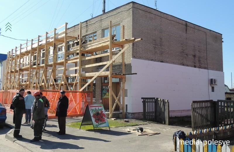 Ремонтные работы здания КБО
